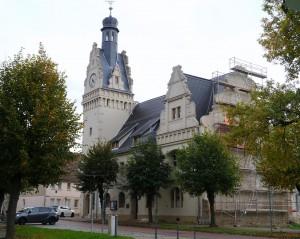 Rathaus Güsten Frontansicht